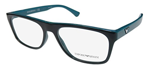 Eyeglasses Emporio Armani EA 3097 5554 TOP GREEN ON - Armani Frame Emporio
