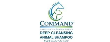 Command Deep Cleansing Animal Shampoo (12 Ounce)