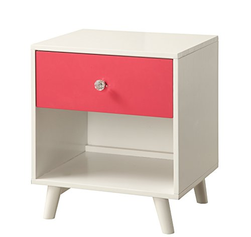HOMES: Inside + Out ioHOMES Caprica Contemporary Youth Nightstand, (2 Drawer Youth Nightstand)