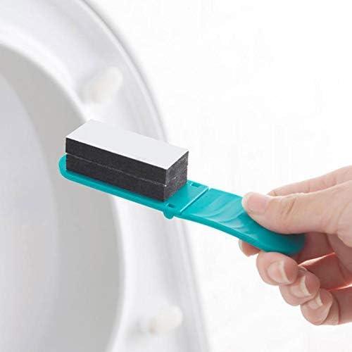 SHOP-STORY L/ève cuvette de toilette portable Vert