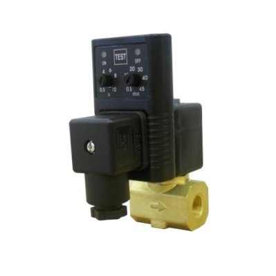 Midwest Control EAD-25 Timer Controlled Condensate Drain, 1/4'' FPT, 115V, 230 psi Max Pressure, 34 Degree F to 140 Degree F, 4 mm Orifice by Midwest Control