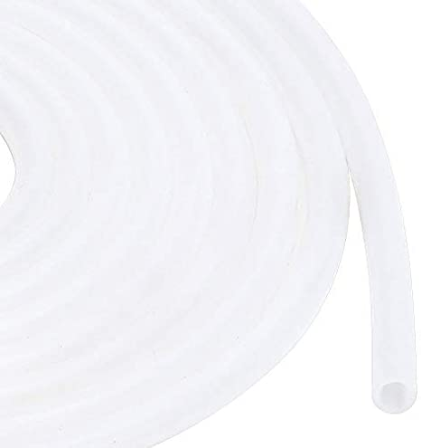 Silicone Tube Flexible Silicone Hose wall thickness 1mm Length 5 Meter 5mm ID x 7mm OD Water Air Hose Pipe for Pump Transfer for Laser engraving machine