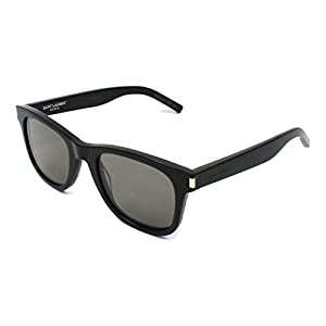 Yves Saint Laurent sunglasses (SL-51 018) Shiny Black - Grey lenses