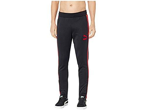 PUMA Men's T7 Vintage Track Pants Puma Black/Ribbon Red X-Large 33