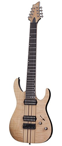 Schecter BANSHEE ELITE-8 Gloss Natural 8-String Solid-Body Electric - String Gibson 8
