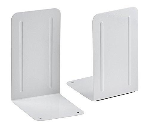 Acrimet Premium Bookend White Color