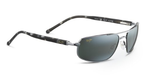 Maui Jim Kahuna 162-02 Gun Metal/Black - Jim Cleaning Sunglasses Maui