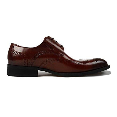Yra Brock Eingraviert Herrenschuhe Business Kleider Männer Spitzen Schuhe  Atmungsaktiv Lace-Up Derby Party Im Freien  Amazon.de  Bekleidung 4aec91d03d
