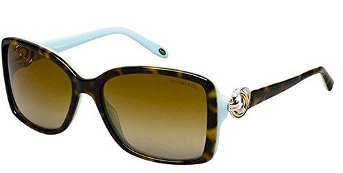 Gafas de Sol Tiffany & Co. TF4066 TOP HAVANA/BLUE - BROWN ...