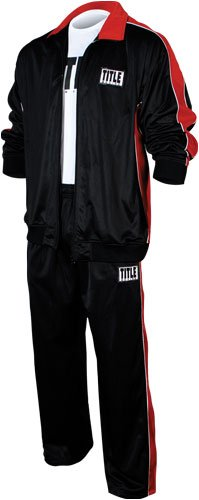 TITLE Boxing Men's Warm Up Suit