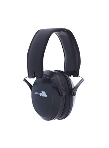 Rifleman Low Impact - Low Profile Ear Muffs - Shooting Hearing Protection - NRR 22 - Black - Slim Cups - RFLIBBX (Best Low Profile Ear Protection For Shooting)
