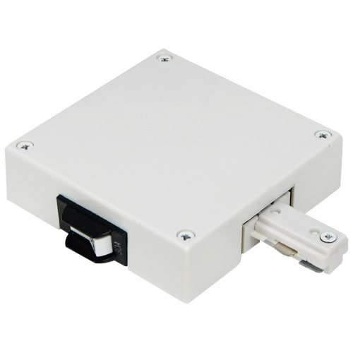 Elco EP840W-2A White 2 Amp Current Limiter for 1 Circuit Track (Lighting Track Current Limiter)