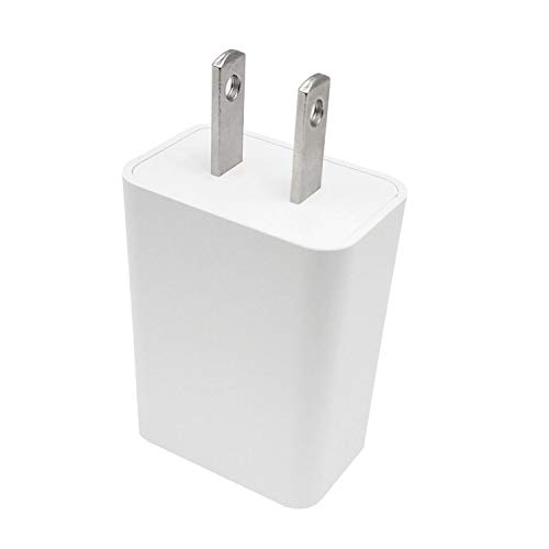 """ZLONXUN Kindle Fire Charger 2A, Power Adapter with Micro-USB Cable Compatible with Fire 7 8 10 Tablet, HDX 6"""" 7"""" 8.9"""" 9.7"""" and Phone, Tab Power Supply Cord, White"""