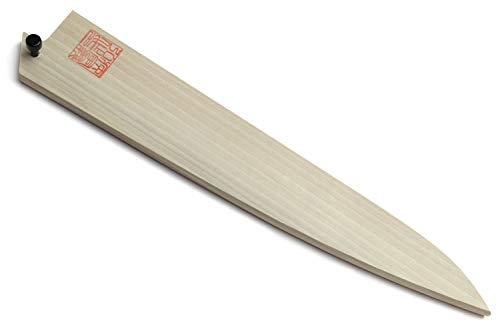 Yoshihiro Natural Magnolia Wood Saya Cover Blade Protector for Sujihiki Slicer (270mm)