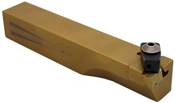 3//4 Shank Width Left-Hand Cut 1//2 Insert 4-1//2 Overall Length 3//4 Shank Height Dorian Tool ADDJN Jet-Stream Square Shank Chromium Molybdenum Alloy Steel Thru-Coolant Turning Holder
