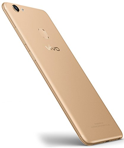 "New Vivo V7+ Unlocked Dual SIM (4G+4G) 5.99"" Fullview Display- 4GB RAM- 16MP Primary+24MP Front Facing Camera- GOLD- 64GB"