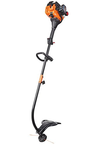 (Remington RM2520 Wrangler 25cc 17-Inch Gas Powered String Trimmer 2-Cycle-Lightweight-Attachment Capable-Curved Shaft)