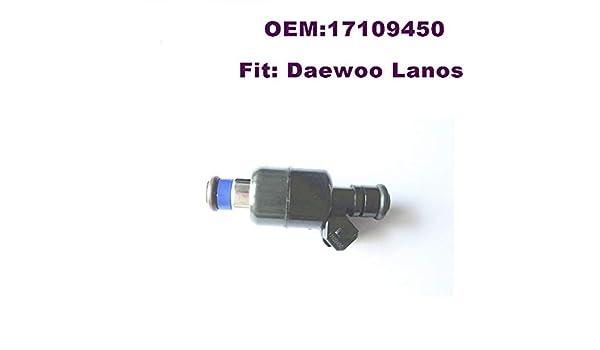 FUEL INJECTOR For DAEWOO CHEVROLET Lanos ESPERO NEXIA NUBIRA 17109450