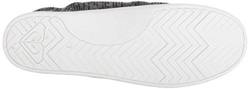 Roxy Women's Bayshore Sport Slip on Shoe Fashion Sneaker, Black, 8.5 M US by Roxy (Image #3)