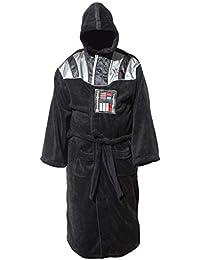 4a9a5b4370 Darth Vader Uniform Fleece Bathrobe Black