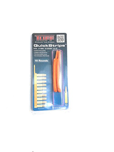 TUFF Products QuickStrip Reloading Strips (Orange, 1022) .17HM2,/.22LR/.22SHORT ()
