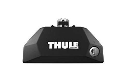 Thule Evo Flush Rail, Soporte de sencilla instalación para barras de techo Thule Evo, para vehículos con railing integrado.