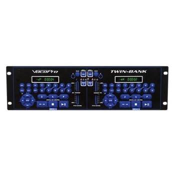 VocoPro TWIN-BANK Karaoke Player