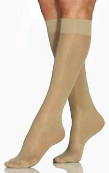 Jobst - UltraSheer Mild Compression Over-the-Calf (Knee High) M Sun Bronze