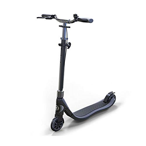 Adult Scooter Easy Folding, Lightweight Kick Scooter with Rear Fender Brake, 200mm Big Wheels,