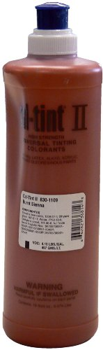 Chromaflo 830-1109 Cal-Tint II 16-Ounce Colorants, Burnt Sienna (Coloring Concrete Floors)