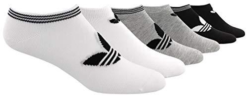adidas Originals womens Trefoil Superlite No Show Socks (6-pair)