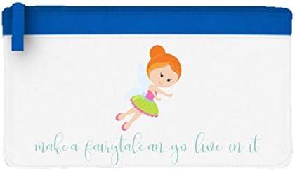 Little Fairy Character 14 - Estuche para lápices, diseño con texto en inglés