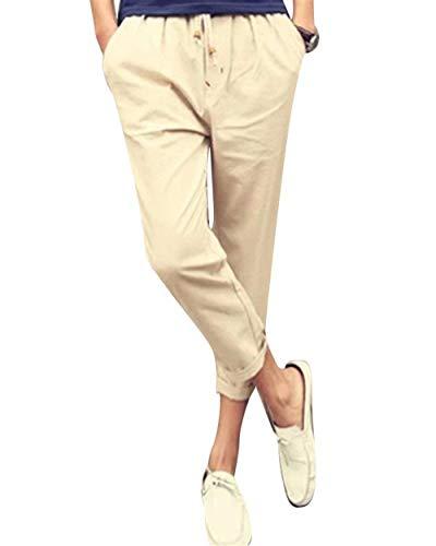 Automne Bolawoo Kaffeebraun Printemps Léger Respirant Plage Couleur Confortable Mode Baggy Pour Pure Marque Pantalon Décontracté Hommes 5wXxzwZ