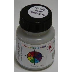 1 Oz Floquil Model Paint - Tru Color Paint Flat Brushable Concrete 1oz