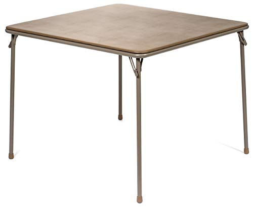(XL Series Square Folding Card Table (38