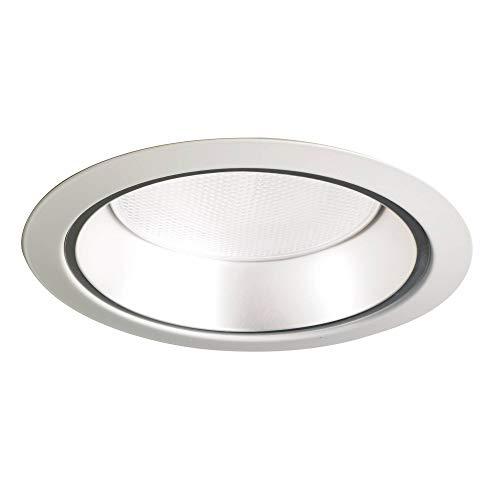 - Juno Lighting 27HZ-WH 6-Inch Tapered Downlight Cone, White Trim with Haze
