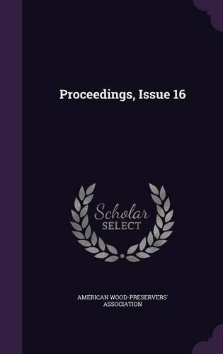 Read Online Proceedings, Issue 16 pdf epub