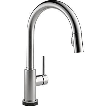 Delta Trinsic Single Handle Touch Pull Down Kitchen Faucet