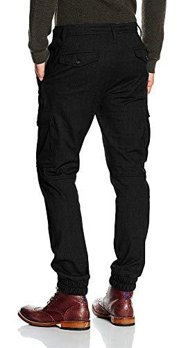 Bandage Jeans Stile Uomo Strech Unita Black Semplice Silm d Multi Pantaloni tinta Fit Con Casual 0S4SrwqIx
