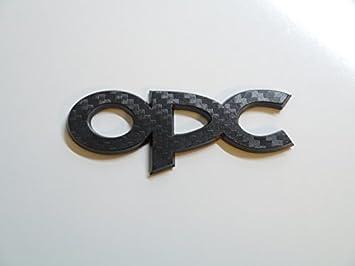 Nero in fibra di carbonio effetto OPC portellone posteriore Badge