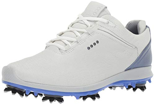 ECCO Women's Biom G 2 Free Gore-TEX Golf Shoe, White, 37 M EU (6-6.5 US)