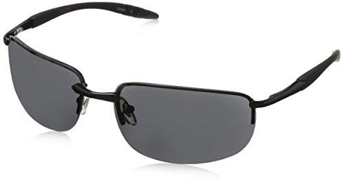 Dockers Men's Bridge 1 10226910.JCP Rectangular Sunglasses, Black, 60 - Sunglasses Docker