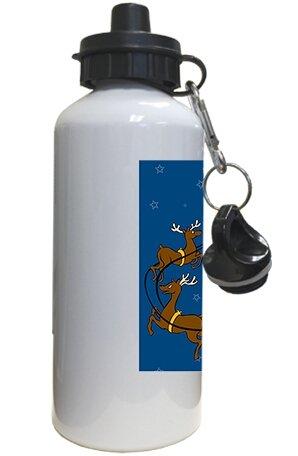 Santa Rings - Water Bottle (Santa Handbell)
