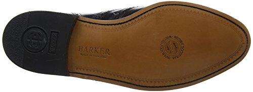 Barker Albert Nero Hi-Shine Scarpe in pelle e lacci