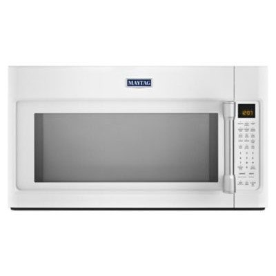 1.9 Cu. Ft. 1600 Watts Over-the-Range Microwave with EvenAir Convection Finish: White