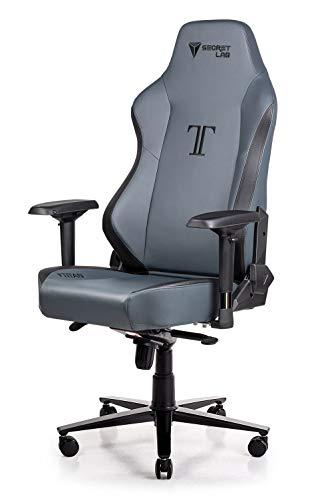 Secretlab Titan 2018 Prime PU Leather Ash Gaming Chair