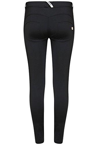 Freddy Damen Skinny Hose schwarz schwarz