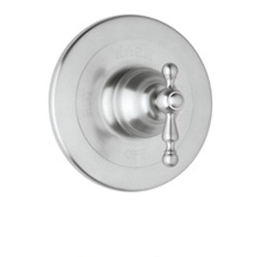 (Rohl AC100L-APC Cisal Trim Set to Pressure Balance with Ornate Metal Lever Without Diverter, Polished Chrome)