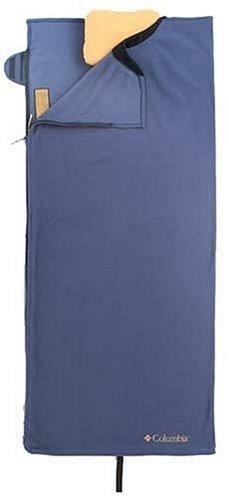 Columbia Double Whammy Rectangular Fleece Sleeping Bag and Pillow