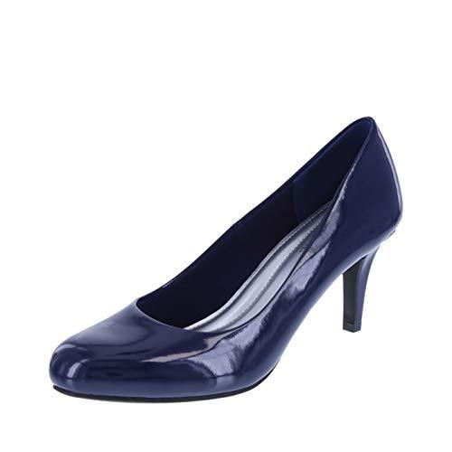 Predictions Comfort Plus Women's Navy Women's Karmen Pump 9 Regular - Navy Heels Shoes